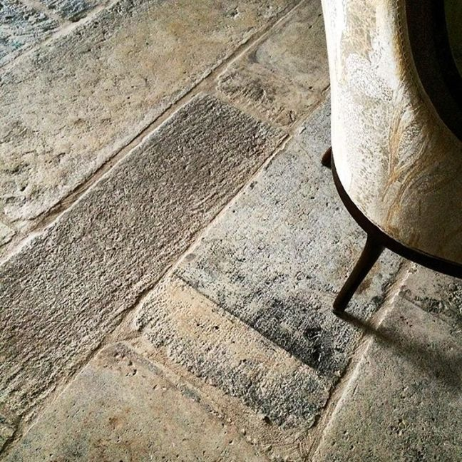 Antique stone floors