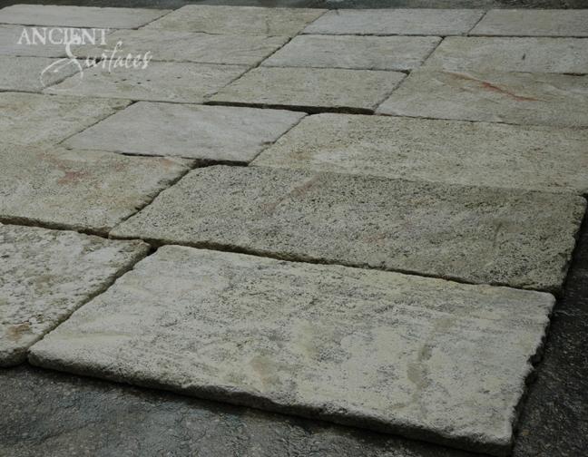 Antique Kronos French Limestone on display