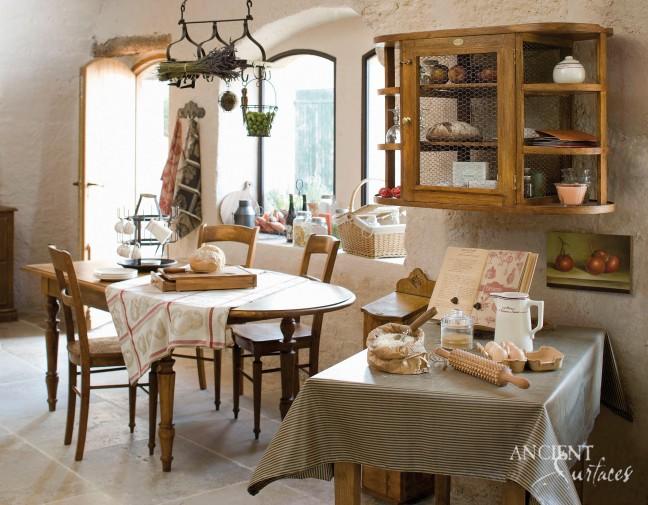 Millennium Limestone-Provence-Style-Kitchen