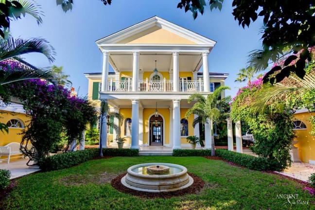 mansion-antique-limestone-flooring-wall-cladding